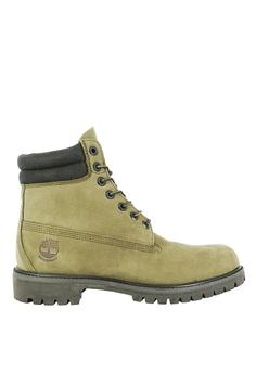 8bad3370423 Timberland green Timberland Premium 6-Inch Waterproof Boots  792E6SH55891C0GS_1