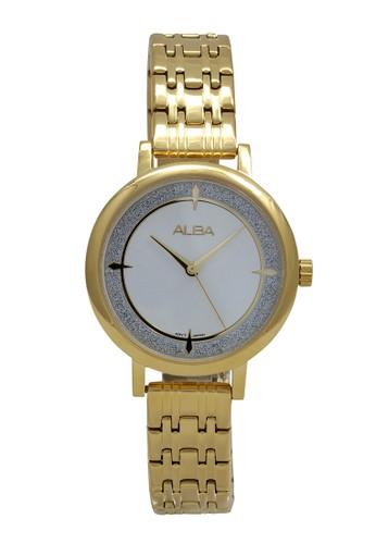 Alba gold ALBA Jam Tangan Wanita - Gold - Stainless Steel - AH8526 1F36DAC8AA5EEDGS_1