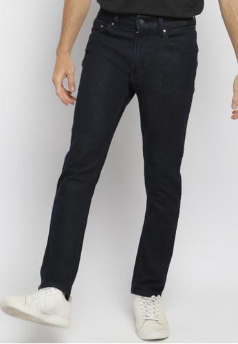 PAULMAY blue PAULMAY Celana Panjang Jeans Pria Slim Fit - Blue Black EBA55AAB76BADBGS_1