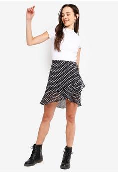 22f6d41ebf 30% OFF Something Borrowed Layered Wrap Skirt HK$ 229.00 NOW HK$ 159.90  Sizes XS S M L XL