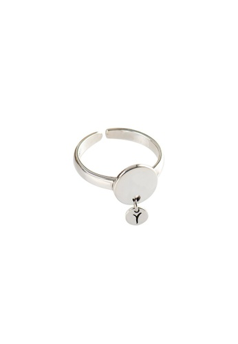 OrBeing white Premium S925 Sliver Geometric Ring 52F5EACC62E952GS_1