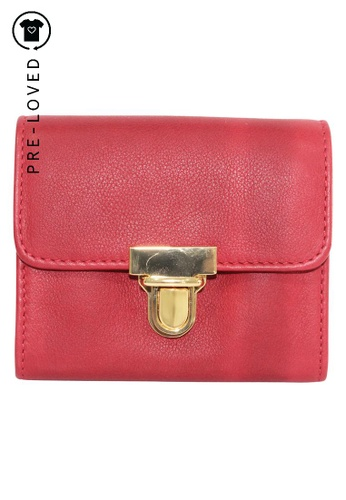 MARNI red Pre-Loved marni Red Wallet 3108DACE81913DGS_1