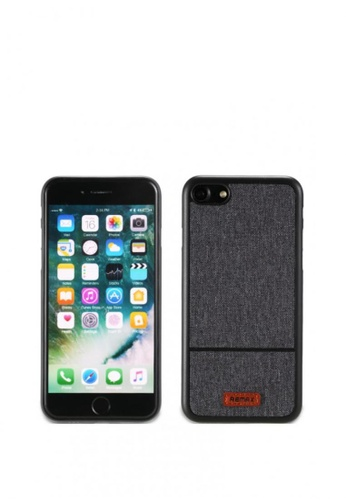 Stylebox grey Remax Fabric Series Phone Case for iPhone 7 B59FEACBBFB8C8GS_1