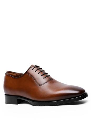 Twenty Eight Shoes 真皮復古德比鞋8710 E7C2ASH98AF845GS_1