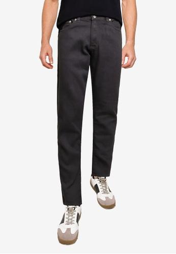 Electro Denim Lab grey Slim Tapered Jeans A550EAADA5AC3EGS_1