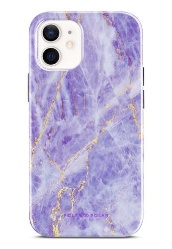Polar Polar purple Princess Purple Dual-Layer Tough Case Glossy For iPhone 12 mini 5CC51ACEF040E6GS_1