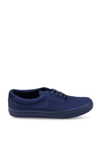 polo ralph lauren navy Thorton Plo Ne Sneakers 377F8SHD320C57GS_1