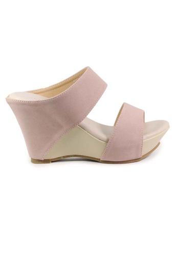BNC pink Women Slide Wedge 94B45SH64C3377GS_1