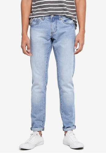 OVS blue Faded Denim Jeans 1A11CAAED0D9A3GS_1