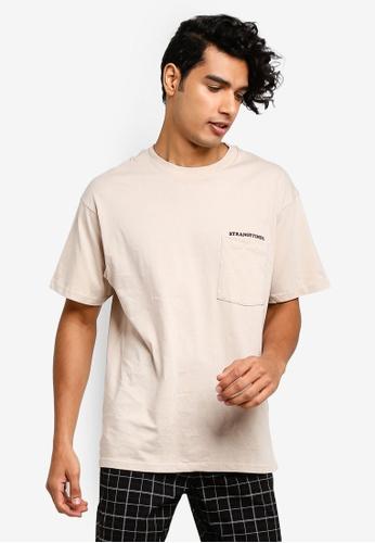 Cotton On 白色 口袋T恤 38EDBAAD2C6AF3GS_1
