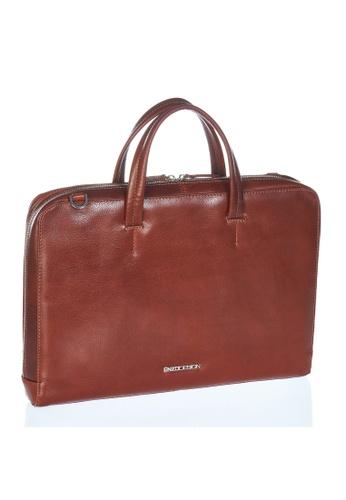 5c2b1ceff ENZODESIGN brown Italian Leather 15