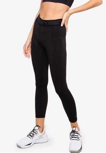 PUMA black Elastic 7/8 Women's Training Leggings 40233AA24EA560GS_1