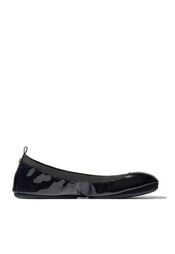 Yosi Samra black Samara 2.0 Patent Leather in Black YO065SH0UCDAID_1