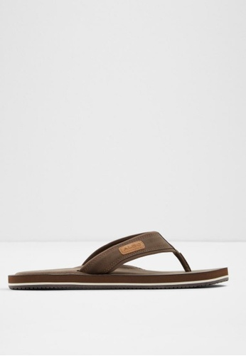 ALDO brown Diara Sandals 05456SH1E920B0GS_1