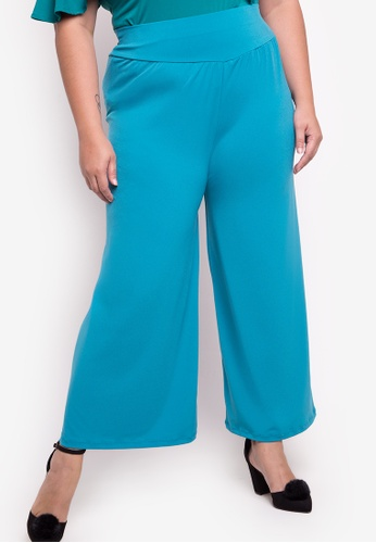 Ashley Collection Plus blue Plus Size Lucky Star Square Pants AS083AA67AEIPH_1