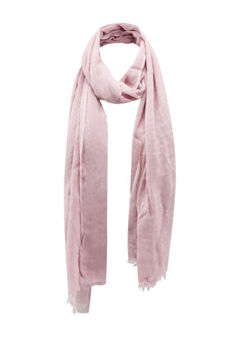 OVS pink Solid Colour Cotton And Viscose Pashmina 47BD7AC4CAD225GS_1