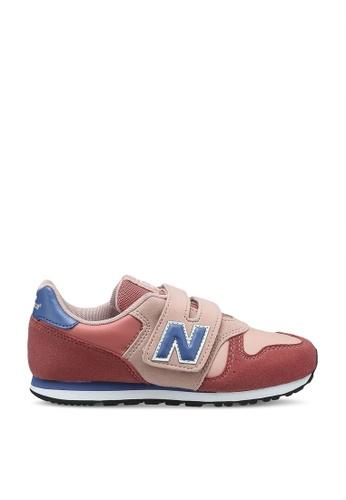 New Balance 粉紅色 373 Lifestyle Shoes 994D7KS517735CGS_1