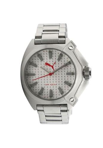 Puma Watches silver PU103811005 Zone Metal Silver Men Watch PU549AC0SHU7MY_1