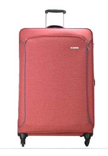 "Airways red Airways Expanable 4 Wheel Soft Case 28"" Luggage - ATS 6928 - RED 126C9ACF0FE4A9GS_1"