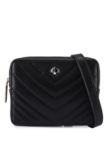 kate spade new york black Amelia Small Camera Belt Bag (cv) 1967EACC4EDA1FGS_1