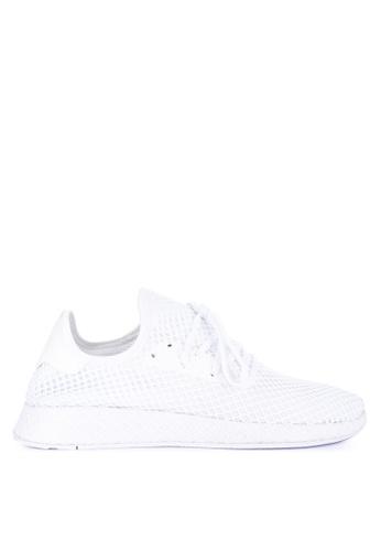 adidas white adidas originals deerupt runner 9637FSH9D84EB4GS_1