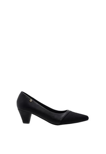 SEMBONIA black Women Synthetic Leather Court Shoe E1F48SH2DD9D20GS_1