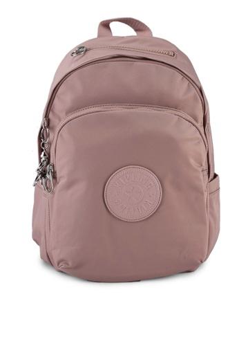 Kipling pink Delia Backpack A4FECAC9F2178BGS_1