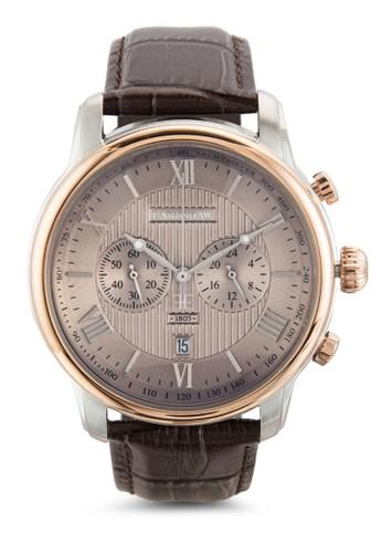 Longitude 雙副錶盤數字手錶, 錶類, 飾品配esprit 見工件