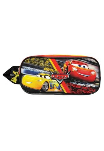 Disney Cars black and red Disney Cars Square Pencil Bag 270EDKC90A9483GS_1
