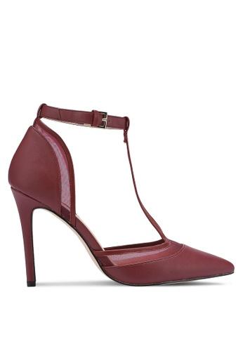 ZALORA 紅色 T - Bar Court Shoes 12717ZZFE2ECA5GS_1