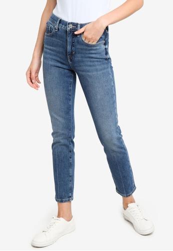 Banana Republic 藍色 Wash 修身牛仔褲 10AB8AA9935E55GS_1