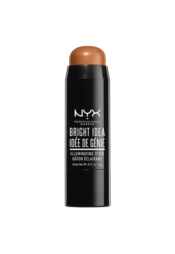 NYX Professional Makeup brown NYX Professional Makeup Bright Idea Illuminating Stick - TOPAZ TAN 51457BE5181E7AGS_1