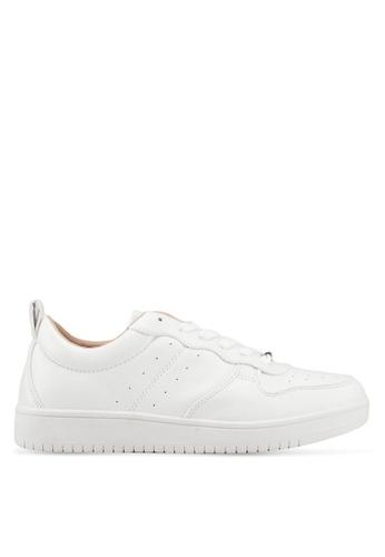 ONLY 白色 Sari Pu Sneaker 69B39SHAAF1AB6GS_1