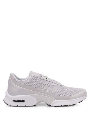 Nike grey and white Women's Nike Air Max Jewell Shoes NI126SH0RWEKMY_1
