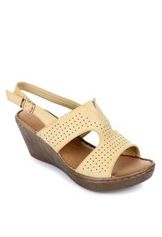 Ganesh Wedge Sandals