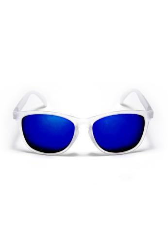 2i's to eyes white and blue 2i's Sunglasses - Caspar 2I983AC64PADHK_1