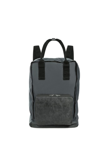 RABEANCO grey RABEANCO SATO CANVAS Backpack - Dark Slate Grey 931E3ACB596807GS_1