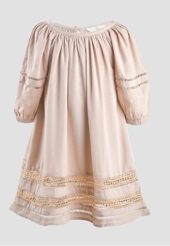Tili Dahli beige Wind Dress (Baby) F3011KA2E97A8EGS_1