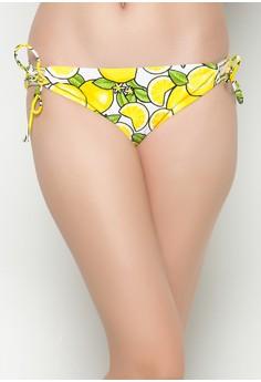 Lemon Party Bikini Triangle Bottom