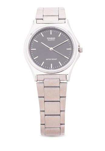 Casio silver Analog Watch MTP-1130A-1ARDF CA076AC04LSDPH_1