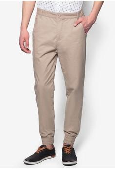 Cuffed Cotton Chino Pants