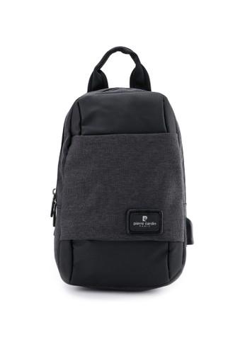 Pierre Cardin black Sling Bag 9D531AC28CD89BGS_1