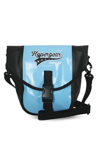 Hypergeaesprit 台北r 翻蓋口袋斜背包, 包, 飾品配件