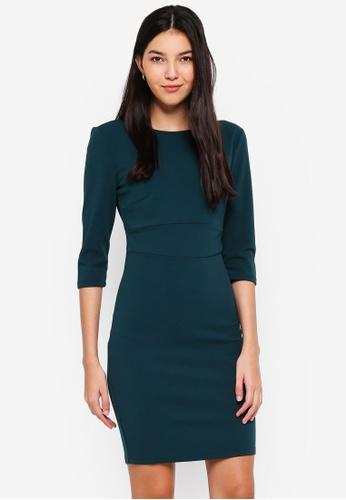 JACQUELINE DE YONG black Lauren 3/4 Dress E2321AA486FDD6GS_1