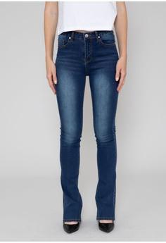 112785d1c93da9 SH by SILVIAN HEACH blue Slim Flare Jeans C13CFAA2FDA63EGS 1