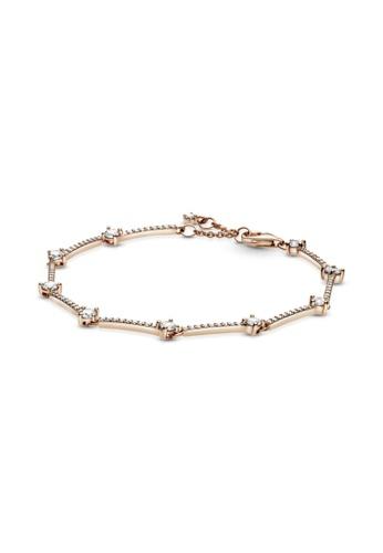 Buy Pandora Pandora Sparkling Pave Bars Bracelet Online Zalora Malaysia