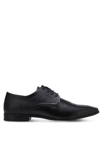 Burton Menswear London black Kelmarsh Black Formal Shoes BU964SH0RZGVMY_1