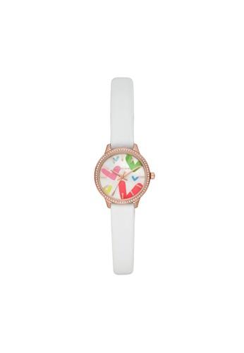 Michael Kors white Allie Watch MK2916 35FEBAC29A3AE9GS_1