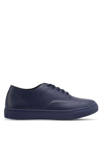 ZALORA navy Classic Lace Up Sneakers D3B47SH6544E13GS_1