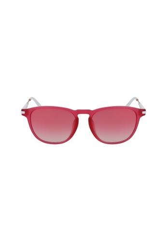 Calvin Klein Eyewear pink Squared CKJ18708SA Sunglasses 3D876GLE87D7D1GS_1